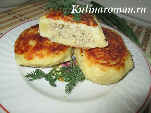 картофельные зразы рецепт