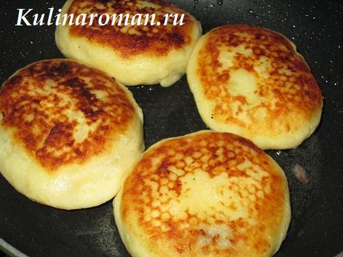 картофельные зразы на сковороде