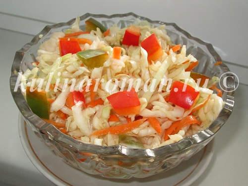 вкусная маринованная капуста