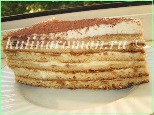 показать постный рецепт торта медовый на сметане