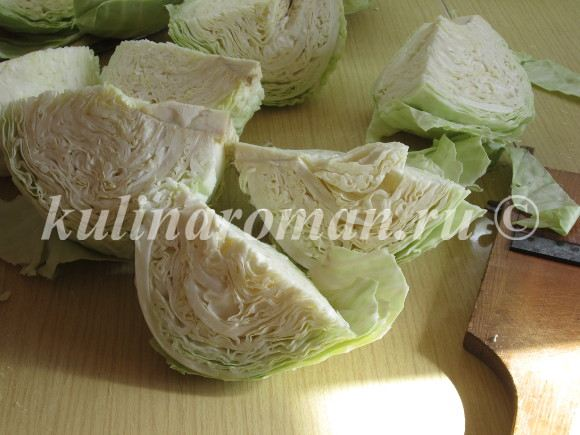 запеканка из капусты белокочанной