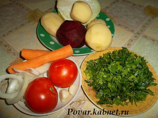 украинский борщ рецепт с фото