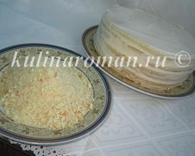 как приготовить торт на сковороде