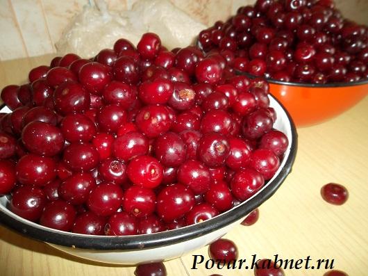 как приготовить компот с вишней и мятой