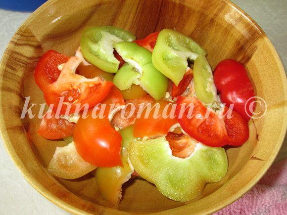 заготовка болгарского перца на зиму