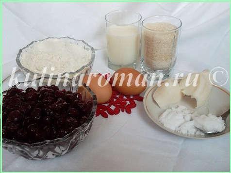 продукты для песочного пирога