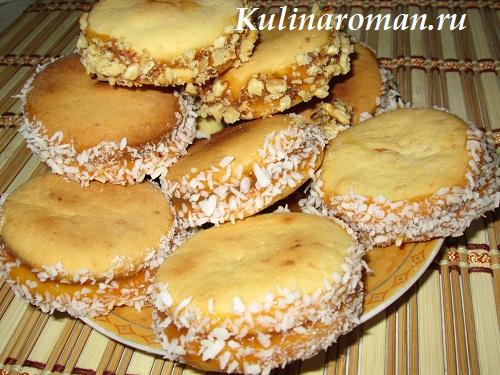 Печенье и сгущенка рецепт