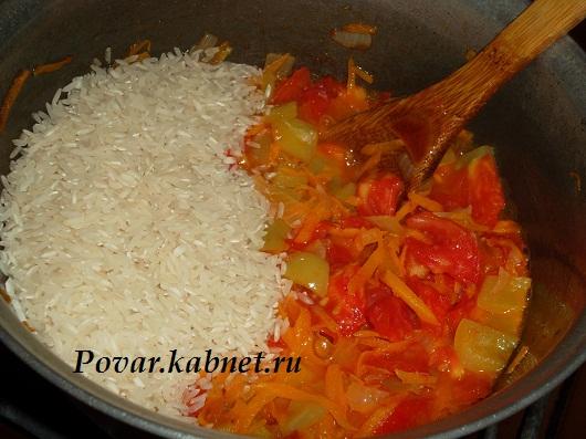что можно приготовить из риса и мяса