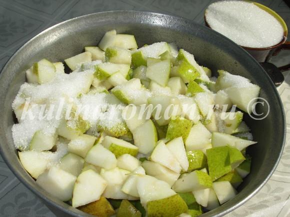 вкусное грушевое варенье
