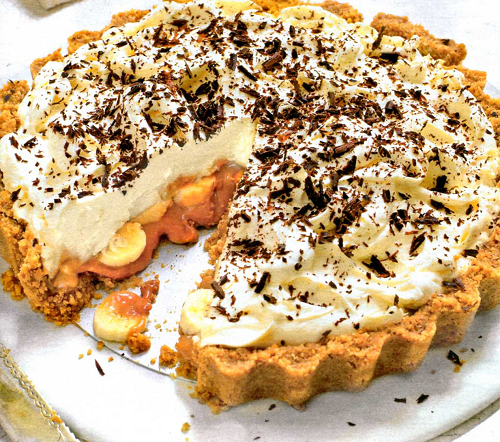 банановый пирог рецепт