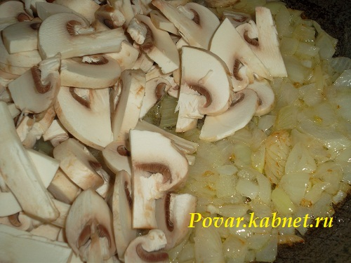 Жареные грибы с луком рецепт