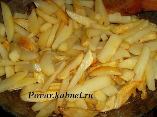 Картофель с румяной корочкой рецепт