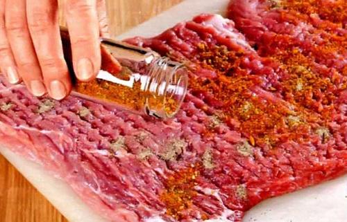Рецепт мясного рулета