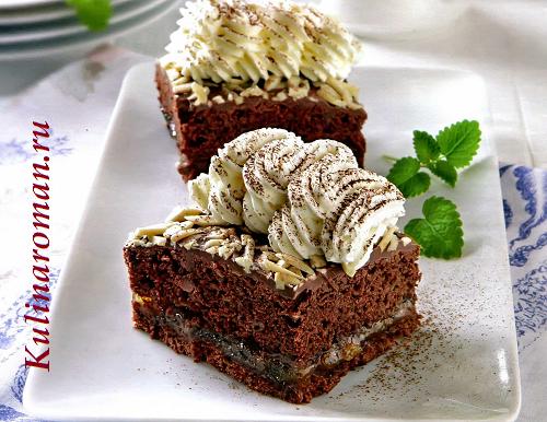 Миниатюрные тортики захер