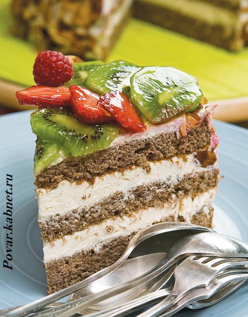 Бисквитное тесто для торта