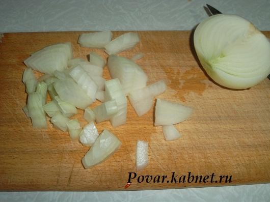 жареная баранина с картофелем
