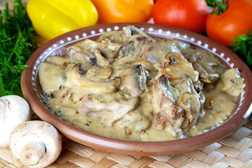 рецепт куриной печени в сметане