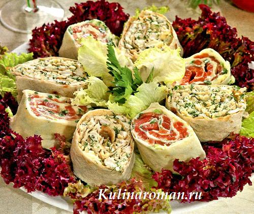 Блюда из лаваша рецепты