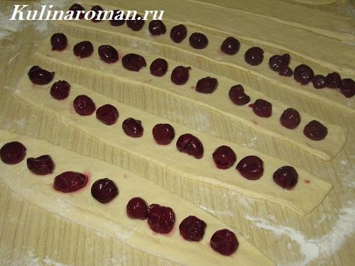 торт монастырская изба с консервированной вишней