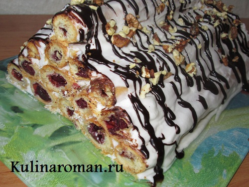 торт монастырская изба с фото