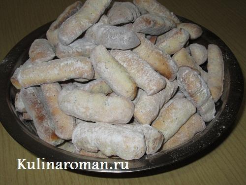 рецепт песочного печенья на жиру