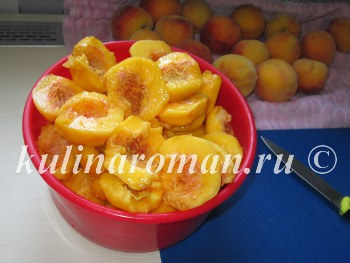 персики на зиму рецепт