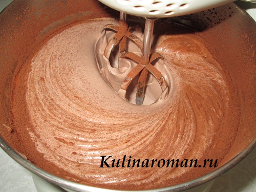 Как сделать шоколадный крем гуще