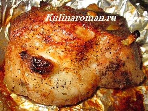 Курица маринованная в молоке рецепт