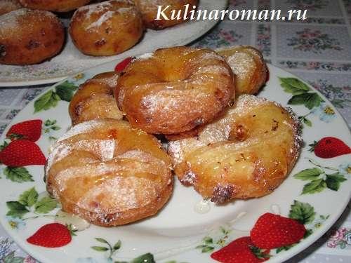 пончики из творога рецепт