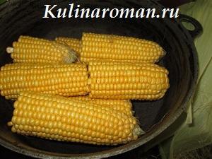 сахарная кукуруза рецепт