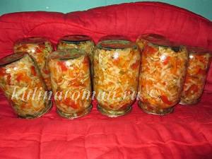 салат кубанский рецепт с фото на зиму