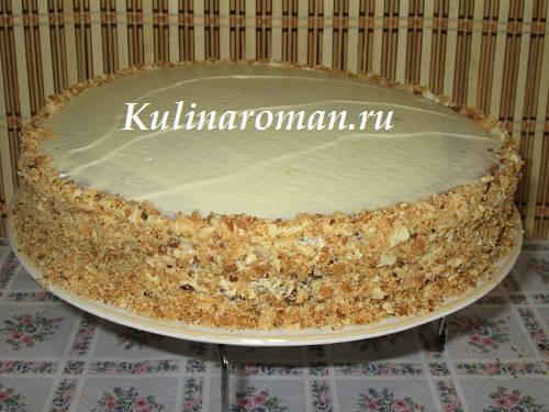 Рецепт торта из масла и сгущенки для торта рецепт
