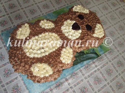 детский торт мишка