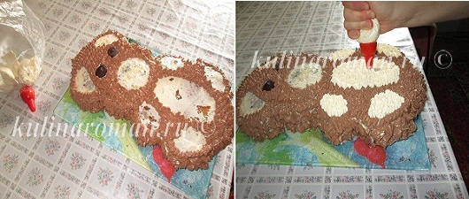 как приготовить торт мишка