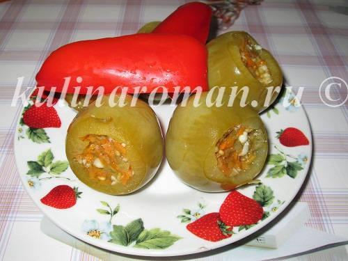 zelenye-pomidory-na-zimu-s-chesnokom