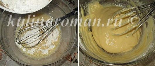 блинное тесто рецепт