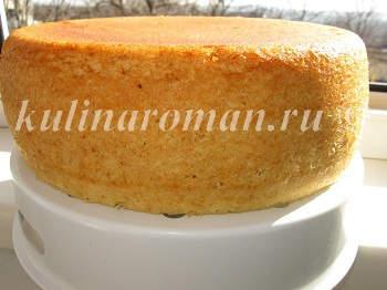 бисквит в мультиварке рецепт