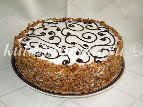 Торт панчо рецепт готовые коржи