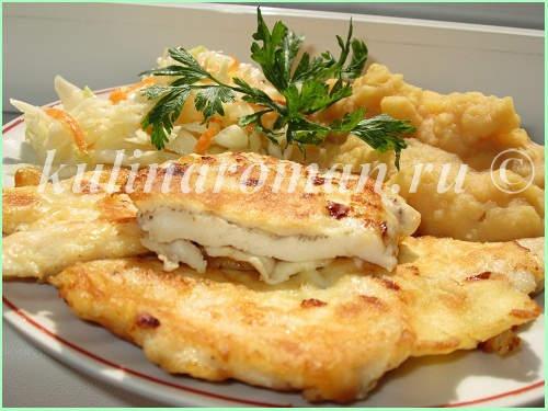 куриные отбивные в кляре на сковороде рецепт с фото пошагово
