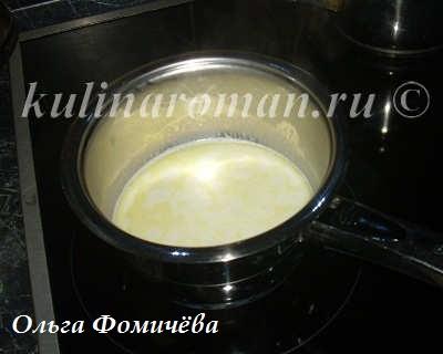 соус бешамель на молоке