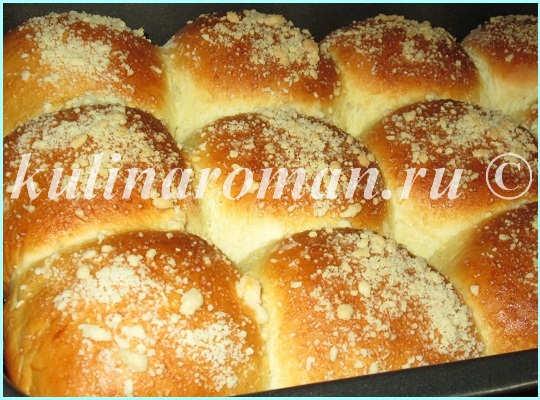 румяные булочки