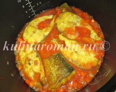 толстолоб в томатном соусе