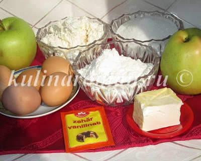 продукты для шарлотки