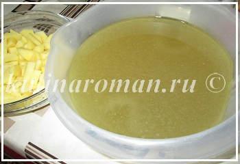 суп на утином бульоне
