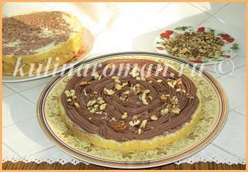 торт с орехами
