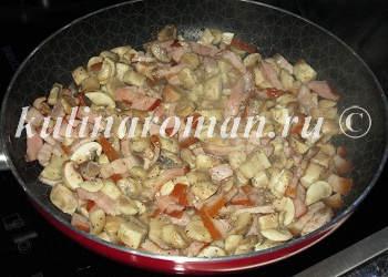 грибная начинка для картошки