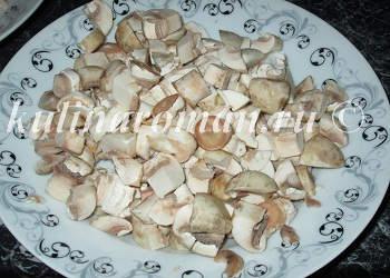 шампиньоны для фаршированной картошки