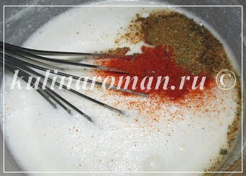 Сметанный соус для голубцов рецепт