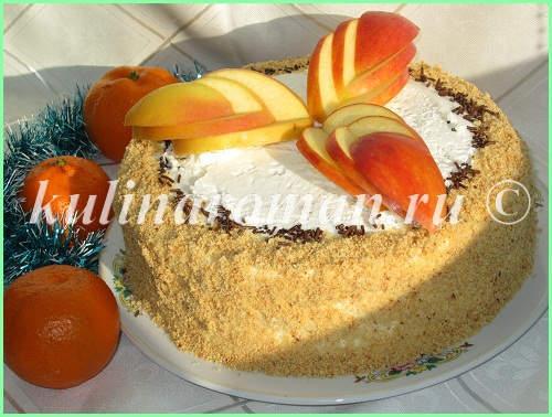 яблочный торт пошаговый рецепт