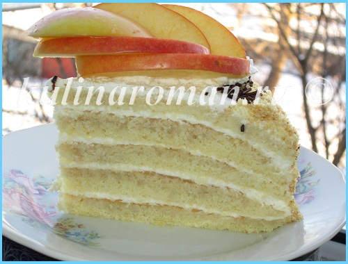 как приготовить яблочный торт